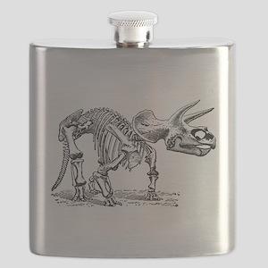 Triceratops Skeleton Flask