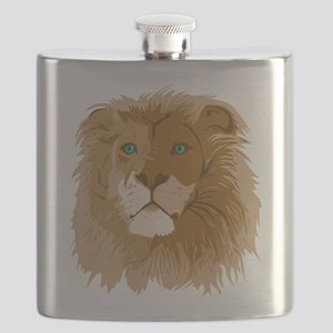 Realistic Lion Flask