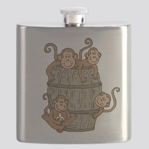Barrel Monkey Flask