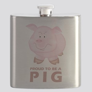 Proud To Be A Pig Flask