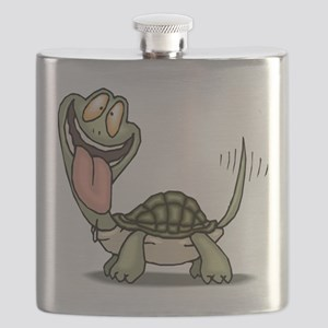 Funny Turtle Flask