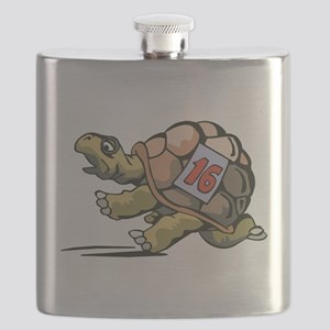 Tortoise Race Flask