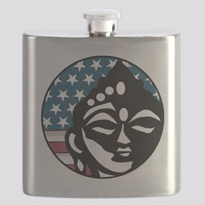 American Buddhist Flask