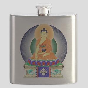 Colorful Buddha Flask