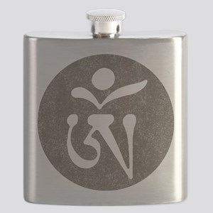 Tibetan Om Flask
