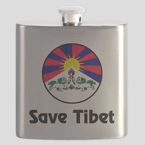 Save Tibet Flask