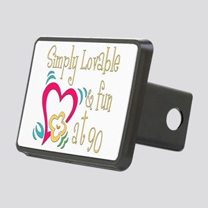 Lovable90 Rectangular Hitch Cover