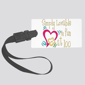 Lovable100 Large Luggage Tag