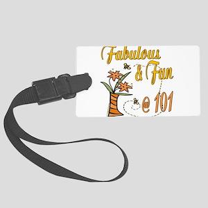 FabulousFun101 Large Luggage Tag