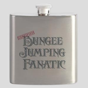 Bungee Jumping Fanatic Flask