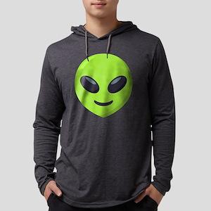 Alien Emoji Mens Hooded Shirt