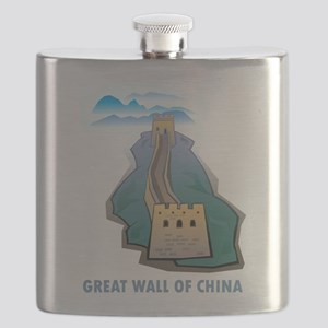Great Wall Of China Flask