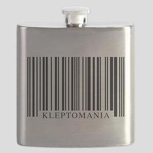 Barcode Kleptomania Flask
