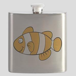 Cute Clown Fish Flask
