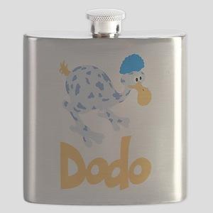 Cute Dodo Flask