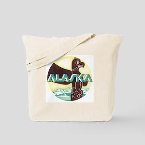 Alaska Totem Pole Tote Bag