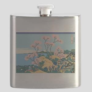 Hokusai Gotenyama Hill Flask