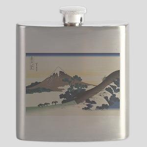 Hokusai Inume Pass Koshu Flask