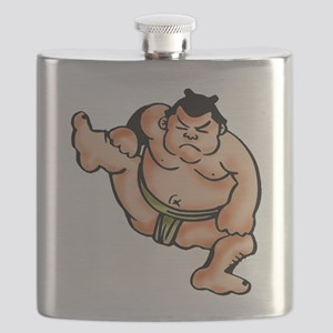 Sumo Wrestler Flask