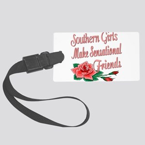 SouthernGirlsFRIENDS copy Large Luggage Tag