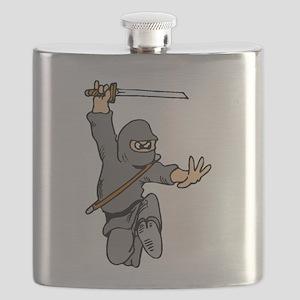 Cute Ninja Flask