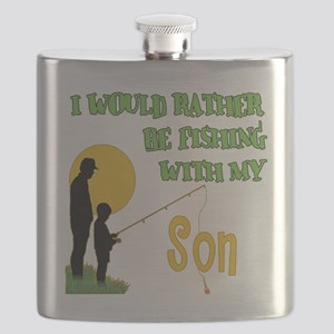 Fishing With Son Flask