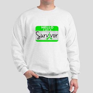 Lymphoma Survivor 24 Sweatshirt