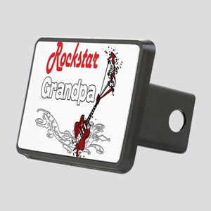 Rockstar Grandpa copy Rectangular Hitch Cover