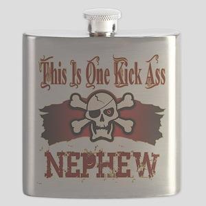 Kickass Nephew copy Flask