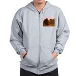 Twisted Out Zip Hoodie