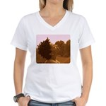Twisted Out Women's V-Neck T-Shirt