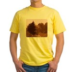 Twisted Out Yellow T-Shirt