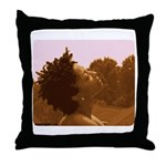 Twisted Out Throw Pillow
