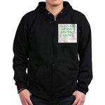 All ready to grown Zip Hoodie (dark)