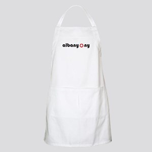 Albany, New York - BBQ Apron