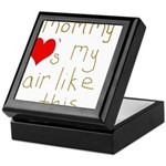 Mommy Loves it Keepsake Box