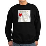 Mommy Loves it Sweatshirt (dark)