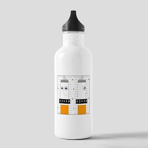 Smoking is criminal Stainless Water Bottle 1.0L