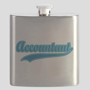 Retro Accountant T-shirt Flask
