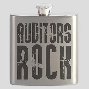 Auditors Rock Flask