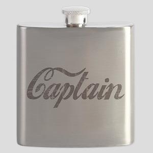 Vintage Captain Flask