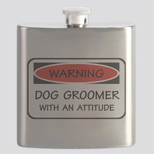 Attitude Dog Groomer Flask