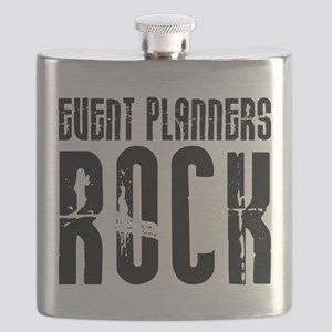 Event Planners Rock Flask