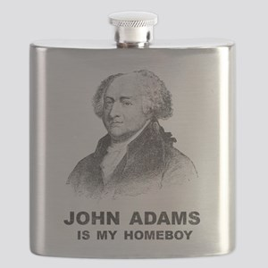 John Adams Is My Homeboy Flask