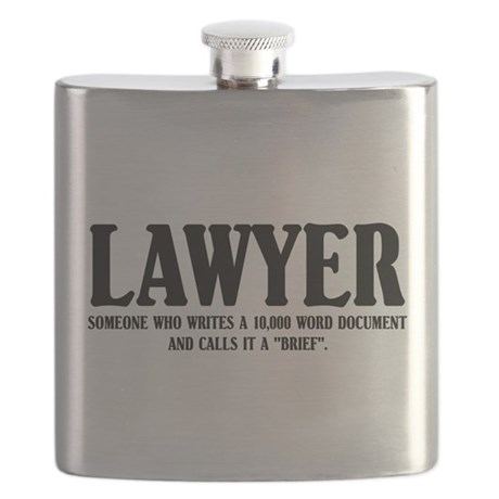 Funny Lawyer Flask