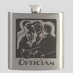Retro Optician Flask