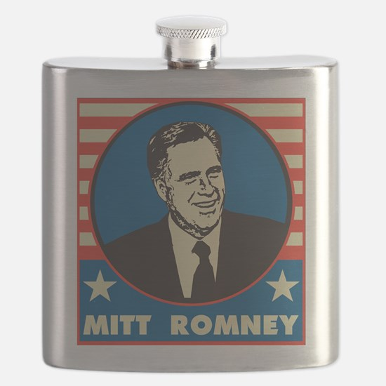 Retro Mitt Romney Flask