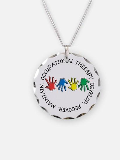 OT CIRCLE HANDS 2.PNG Necklace