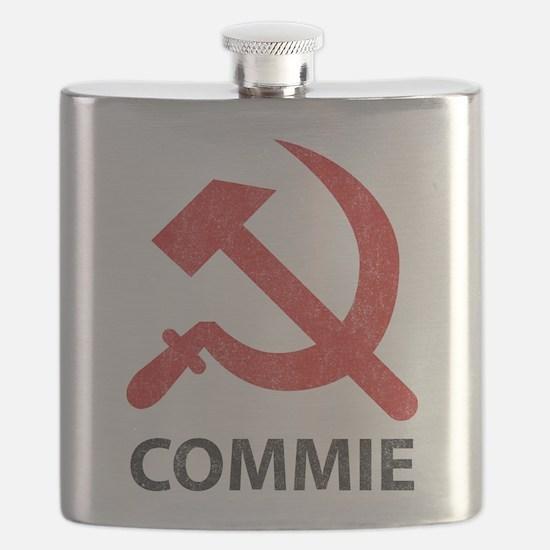 Vintage Commie Flask