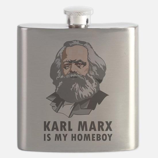 Karl Marx Is My Homeboy Flask